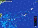 2016年08月10日の沖縄地方の雨雲レーダー