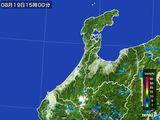 雨雲レーダー(2016年08月19日)