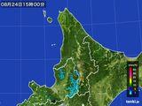 雨雲の動き(2016年08月24日)