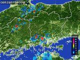 雨雲レーダー(2016年08月25日)