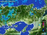 雨雲レーダー(2016年08月28日)