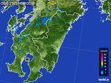 雨雲の動き(2016年08月29日)