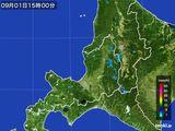 雨雲レーダー(2016年09月01日)
