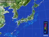 雨雲レーダー(2016年09月07日)