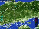 雨雲レーダー(2016年09月10日)