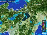 雨雲レーダー(2016年09月19日)