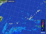 雨雲レーダー(2016年09月26日)