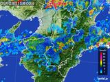 2016年09月28日の奈良県の雨雲レーダー
