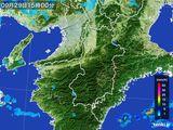 雨雲レーダー(2016年09月29日)