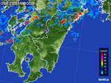 2016年09月29日の宮崎県の雨雲の動き