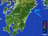 2016年10月12日の宮崎県の雨雲の動き