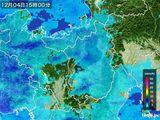 雨雲レーダー(2016年12月04日)
