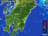 2016年12月26日の宮崎県の雨雲の動き