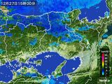 雨雲レーダー(2016年12月27日)
