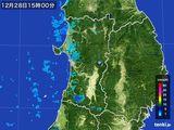 雨雲レーダー(2016年12月28日)