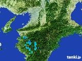 2017年01月07日の奈良県の雨雲レーダー
