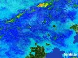 2017年01月08日の奈良県の雨雲レーダー