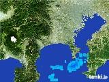 2017年01月09日の神奈川県の雨雲の動き