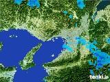 2017年01月09日の大阪府の雨雲レーダー