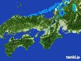 2017年01月10日の近畿地方の雨雲レーダー