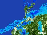 2017年01月10日の石川県の雨雲レーダー