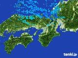 2017年01月11日の近畿地方の雨雲レーダー