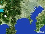 2017年01月11日の神奈川県の雨雲の動き