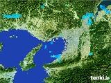 2017年01月11日の大阪府の雨雲レーダー