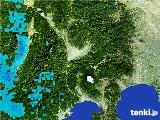 2017年01月12日の山梨県の雨雲の動き