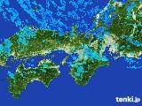 2017年01月13日の近畿地方の雨雲レーダー