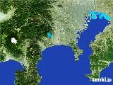 2017年01月13日の神奈川県の雨雲の動き