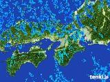 2017年01月15日の近畿地方の雨雲レーダー