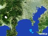 2017年01月15日の神奈川県の雨雲の動き