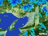 2017年01月15日の大阪府の雨雲レーダー