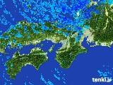 2017年01月16日の近畿地方の雨雲レーダー