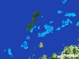 2017年01月17日の長崎県(壱岐・対馬)の雨雲レーダー