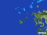 2017年01月17日の長崎県(五島列島)の雨雲レーダー