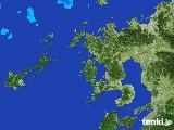 2017年01月17日の長崎県の雨雲レーダー