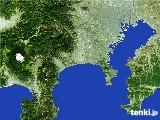 2017年01月18日の神奈川県の雨雲の動き