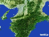 2017年01月18日の奈良県の雨雲レーダー