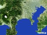 2017年01月19日の神奈川県の雨雲の動き