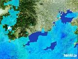 2017年01月20日の神奈川県の雨雲の動き