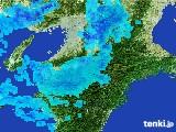 2017年01月20日の奈良県の雨雲レーダー