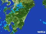雨雲レーダー(2017年01月22日)
