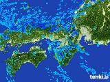 2017年01月23日の近畿地方の雨雲レーダー