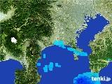 2017年01月23日の神奈川県の雨雲の動き