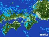 2017年01月24日の近畿地方の雨雲レーダー