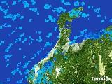 2017年01月24日の石川県の雨雲レーダー