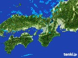 2017年01月25日の近畿地方の雨雲レーダー