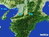 2017年01月25日の奈良県の雨雲レーダー